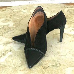 Hispanitas Leather Heel Pumps Booties